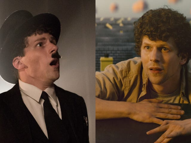 Two new movies fail to exploit Jesse Eisenberg's brainy talent and star power