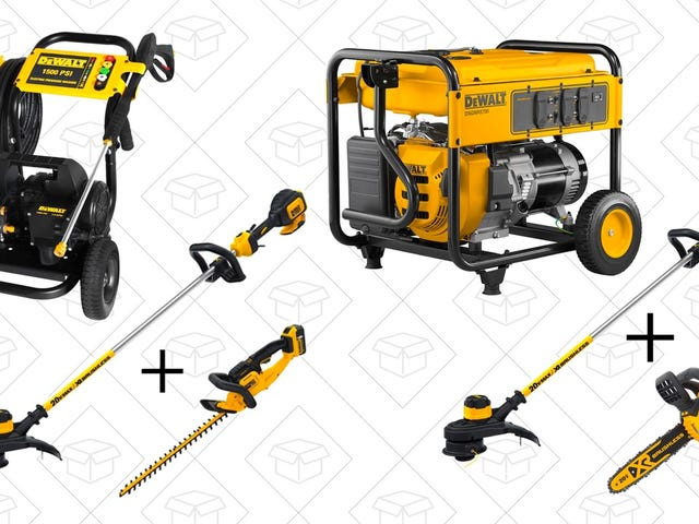 Gear Up For Spring With Home Depot's One-Day Dewalt Outdoor Sale