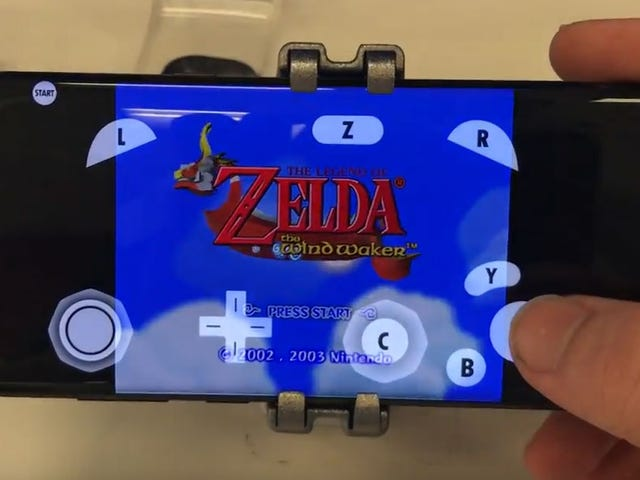 GameCube Games, Running On A Samsung Phone