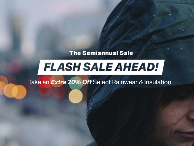 Stave Off Summer Storms With Backcountry's Flash Sale on Rainwear and Insulation