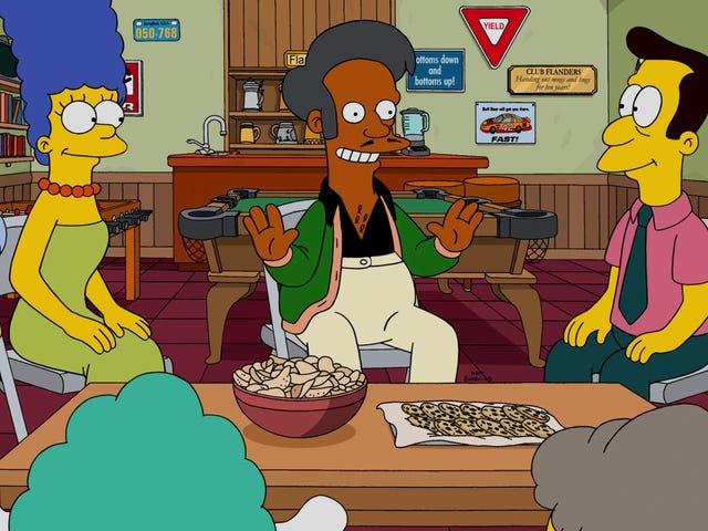 你能对Apu做些什么?  <i>The Simpsons</i>曾经知道
