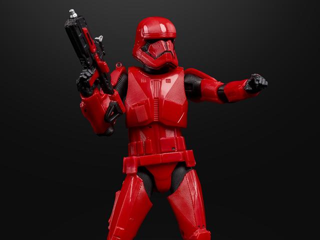 Se dit første kig på Skywalkers Sith Trooper's stigning