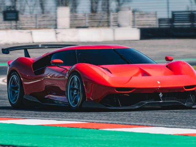 A Ferrari P80 / C parece tão incrível que eu sou triste há apenas um