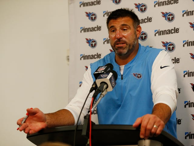Mike Vrabel Doesn't Have A Quarterback So He'll Play Two Quarterbacks