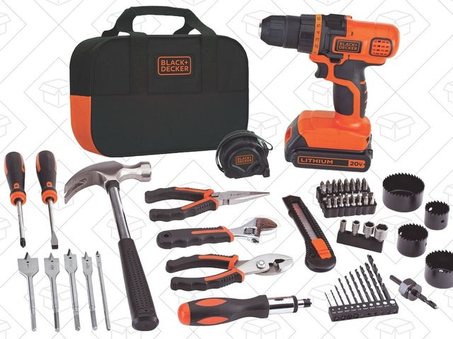 Tackle Your Next DIY Project With This $60 Tool Kit, Today Only