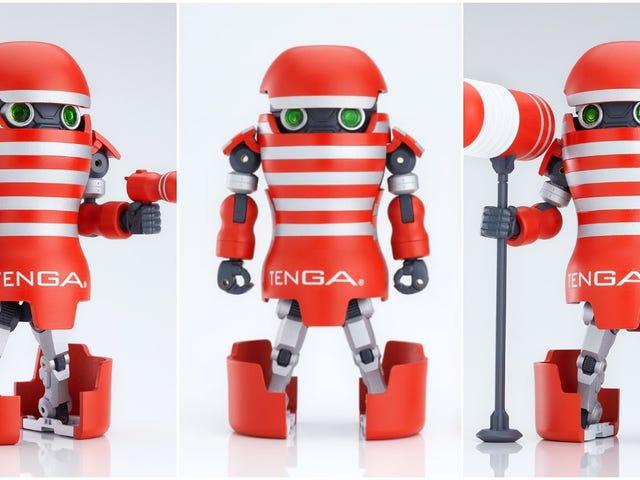 El juguete sexual japonés obtiene un robot transformador