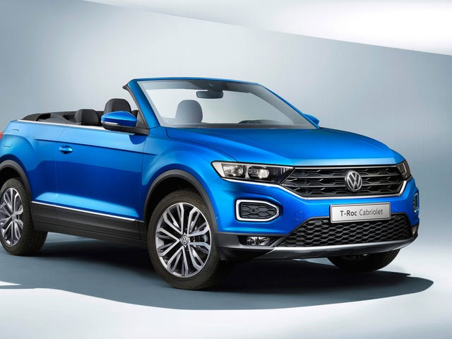 The Volkswagen T-Roc Cabriolet Is The Convertible CUV The World Didn't Know It Needed