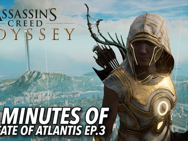 Assassin Creed Odyssey's New Atlantis Expansion is Jaw-Drop