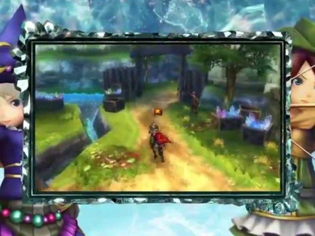 Monster Hunter-esque Final Fantasy Explorers попадает в североамериканские 3DSes в начале следующего года, в январе