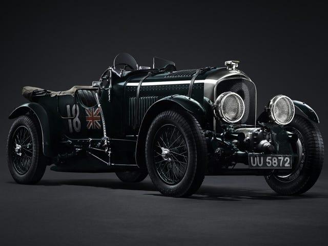 Bentley vuelve a fabricar el mítico Blower, un automóvil que dejó de fabricarse en 1930