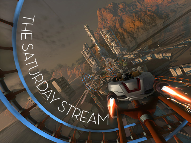 Hooray For Motion Sickness!  The Saturday Stream Plays <i>ScreamRide</i> (Selesai)