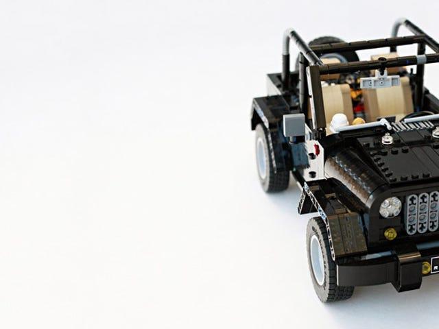 Denne Lego Jeep Wrangler Rubicon er klar for utendørs
