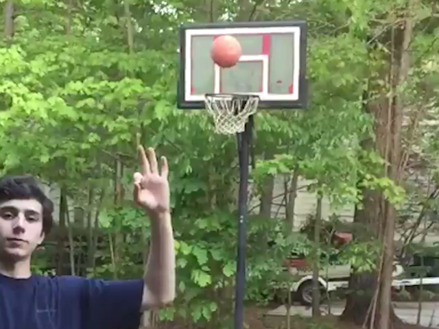 Basketball Teen Tries To Stunt, Gets Righteously Owned