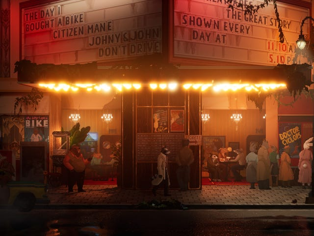 Developer's Close Call With Raccoons Somehow Inspired Noir Detective Game