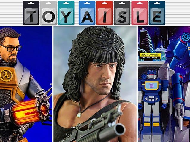 En forbløffende præstation i action Figur 80'erne hår og mere af ugens mest stilfulde legetøj