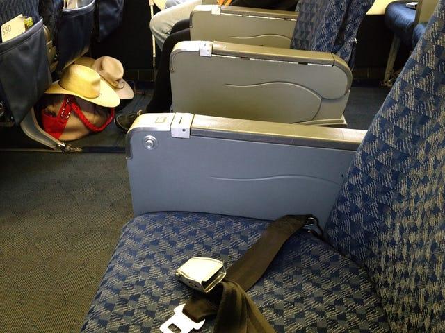 Tôi tiếp tục may mắn với chỗ ngồi trên máy bay.