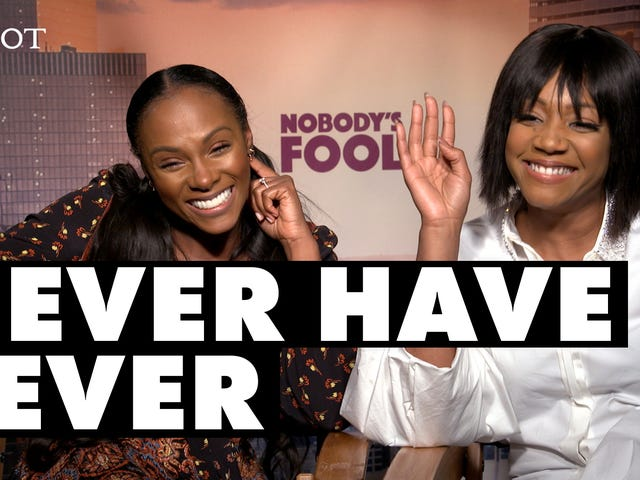 Tiffany Haddish and Tika Sumpter Play 'Never Have I Ever'