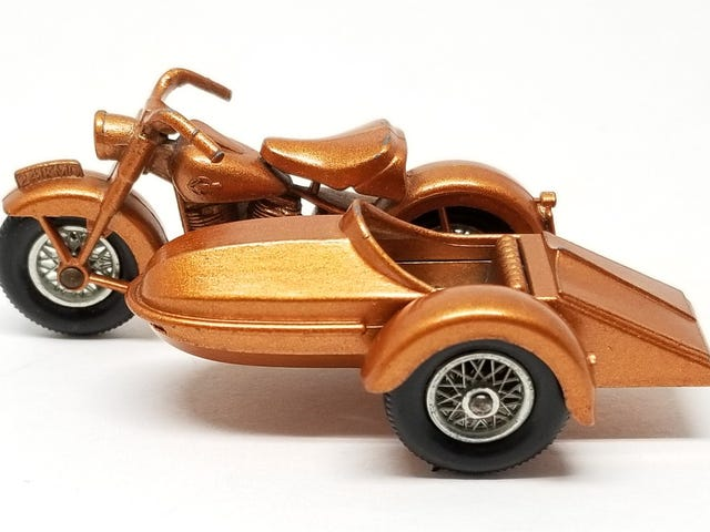 LaLD Engine Week: Lesney Matchbox Harley-Davidson Motorcycle and Sidecar