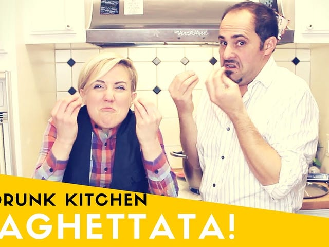 Hanna Hart Makes A Thing Called ASpaghettatawith ChefEdmondo Sarti