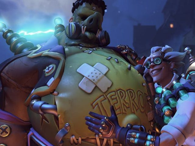 """<a href=https://games.avclub.com/overwatch-got-a-campy-horror-makeover-just-in-time-for-1798253042&xid=17259,15700021,15700124,15700149,15700168,15700186,15700191,15700201,15700208 data-id="""""""" onclick=""""window.ga('send', 'event', 'Permalink page click', 'Permalink page click - post header', 'standard');""""><i>Overwatch</i> ottenuto un rifacimento horror campy appena in tempo per Halloween</a>"""