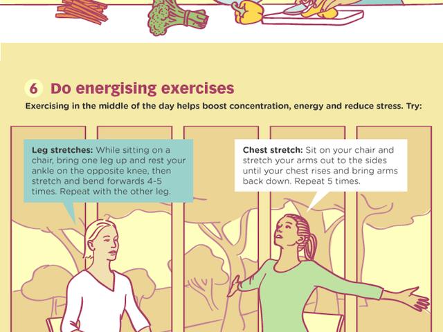 Thói quen lành mạnh của những người khỏe mạnh và năng động, dễ chấp nhận