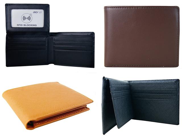 30% de descuento en RFID Blocking Wallet RFID Blocking Leather Wallet