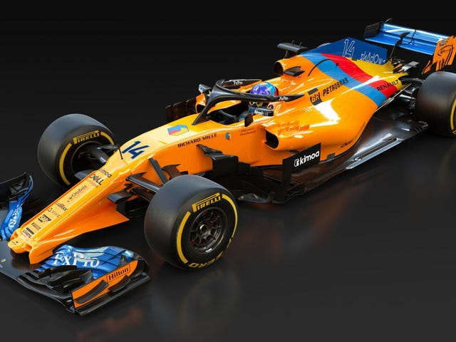 Alonso Receives Special One Off Liveried McLaren For Hulkenberg To Crash Into In Final F1 Race
