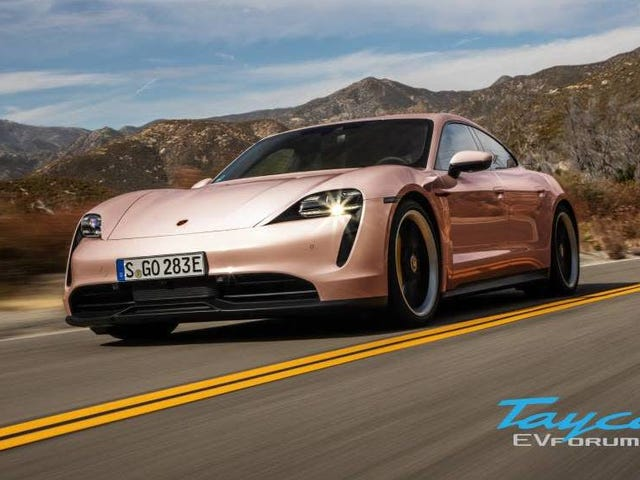 The Porsche Taycan Comes In Pink Oh My God