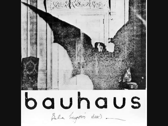 Bauhaus - Los muertos de Bela Lugosi