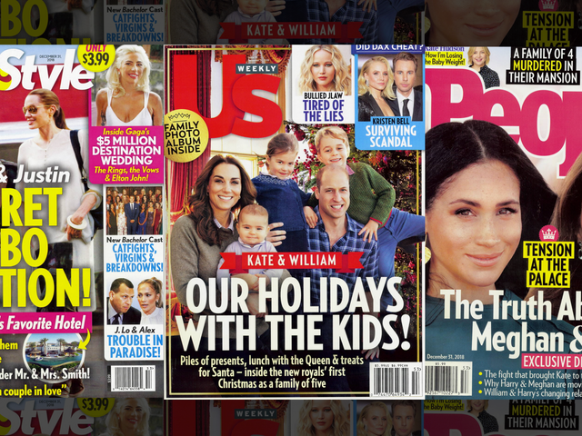 This Week in Tabloids: Kate's a Red Herring!! Meghan's Real Royal Nemesis Is Charlotte!!!!