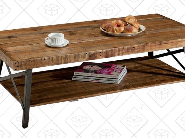 Amazon Akan Menghantar Anda Jadual Kopi Paling Menjual Untuk $ 103