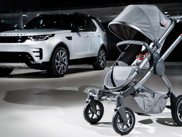The Average Kid Will Definitely Be Able To Walk Before You Pay Off This Land Rover Stroller