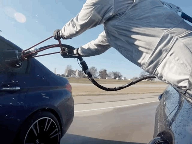 Here's How Refueling During A Record Eight-Hour Drift Turned Out For BMW