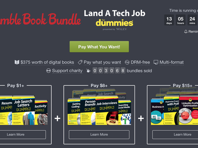 Humble's New Ebook Bundle Will Help You Land a Job In Tech