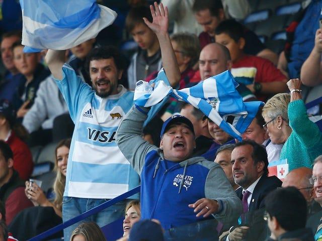 Hater-Ass Ο Ντιέγκο Μαραντόνα είναι η Εθνική ομάδα της Αργεντινής Lowkey Shit-Talking
