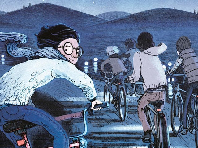 Five boys bike into the mystical unknown in this This Was Our Pact exclusive