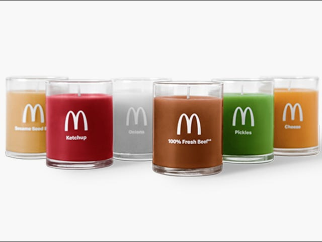 Quarter Pounder candles are coming to beef up your boudoir