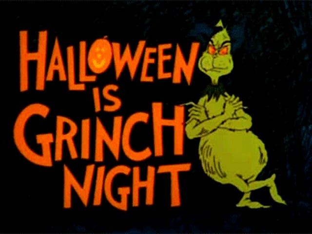 Đêm Halloween là đêm Grinch