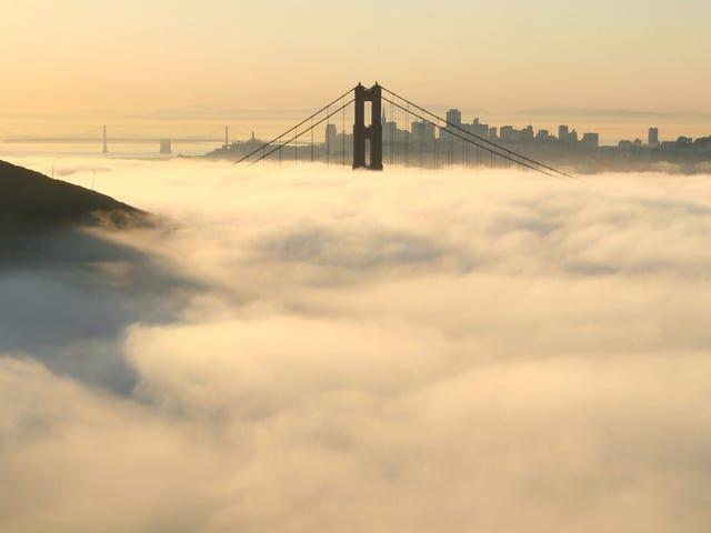 C'è Mercury nella nebbia californiana