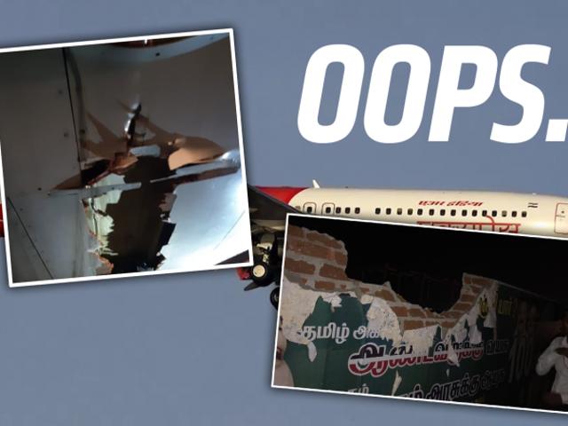 Un boeing 737 vuela durante dos horas después de golpear un muro y una torre de instrumentos mientras despegaba