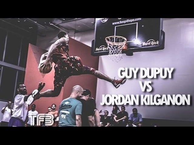 This Dunk Contest Is Extremely Good Shit