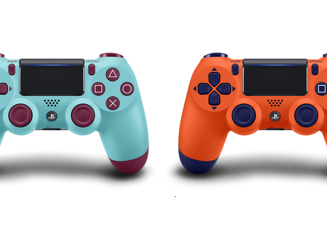 Sony Finally Gets A Little Weird With Its New DualShock 4 Colors
