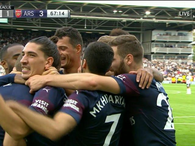 Arsenal trengte bare 15 sekunder til håndverk Det beste lagets mål for sesongen