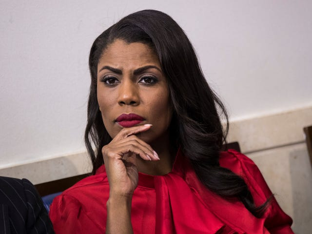 Omarosa Releases a Tape About a Tape of Trump Reportedly Using the N-Word