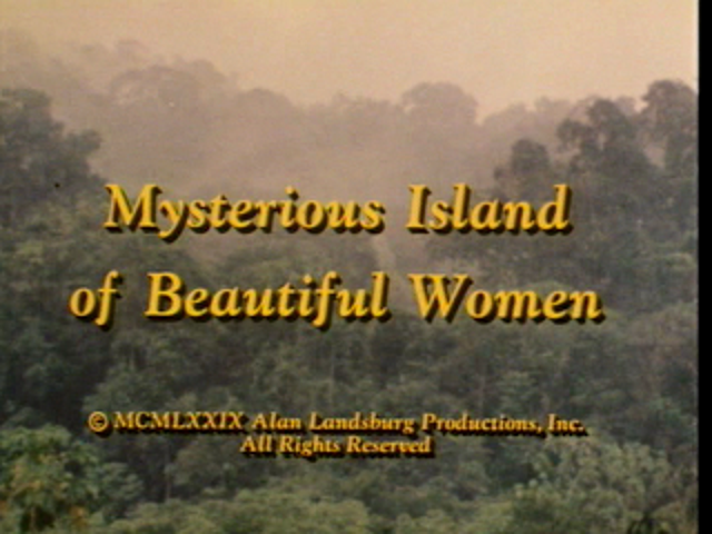 Svengoolie: Mysterious Island of Beautiful Women (1979)
