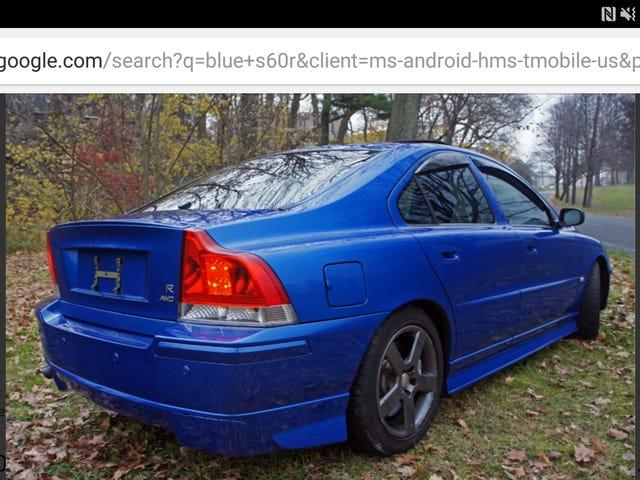 Muista, että Volvo I julkaisi tietoja?  Se, jonka aioin noutaa Ohioista?  Omistaja ei ole vastannut