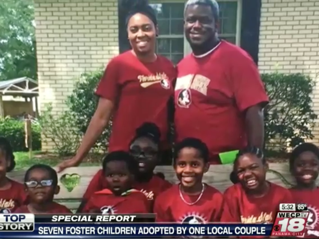 Fla. Couple Adopts 7 Siblings Who Were Separated Among Several Foster Families