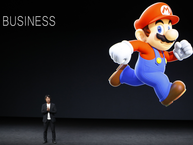 This Week In The Business: Move Over, Mario!