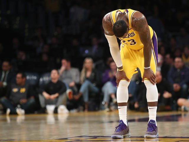 The Lakers Are Exhausted And Depleted And Probably Dead