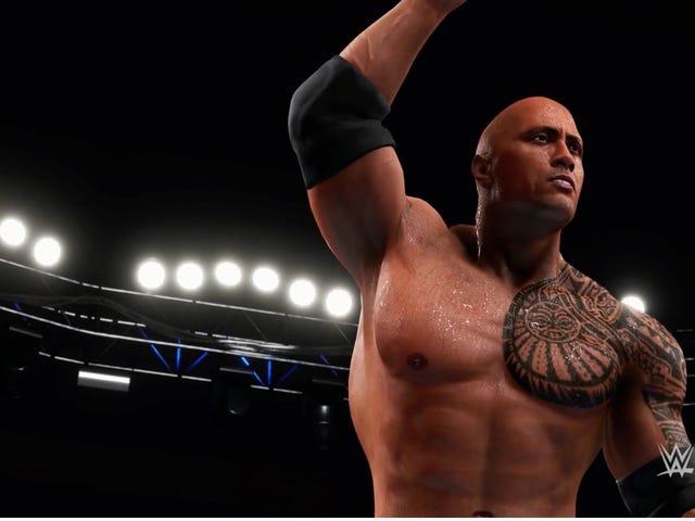 WWE 2K có vẻ tồi tệ hơn bao giờ hết trong năm nay